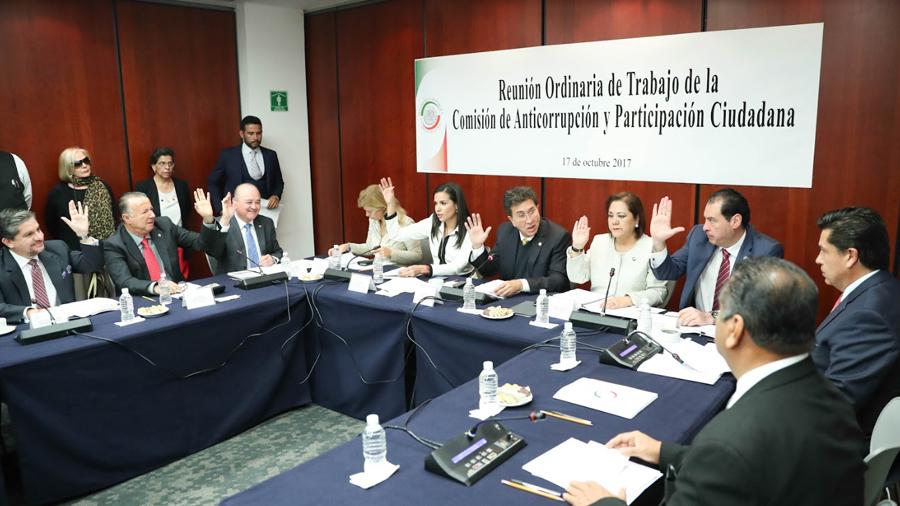 Reconocen trabajo del senador Pablo Escudero al frente de la Comisión de Anticorrupción y Participación Ciudadana