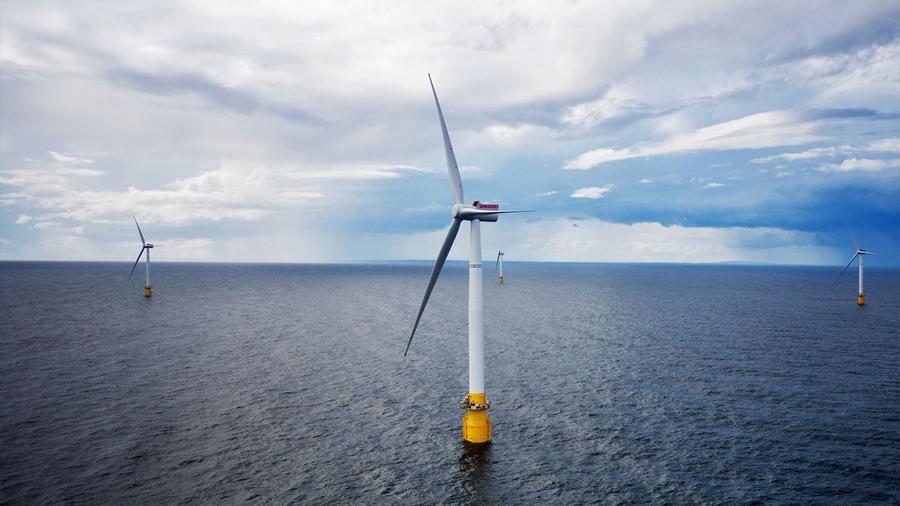 La primera granja eólica que flota sobre el mar ya ha comenzado a funcionar, dando energía a 20,000 hogares