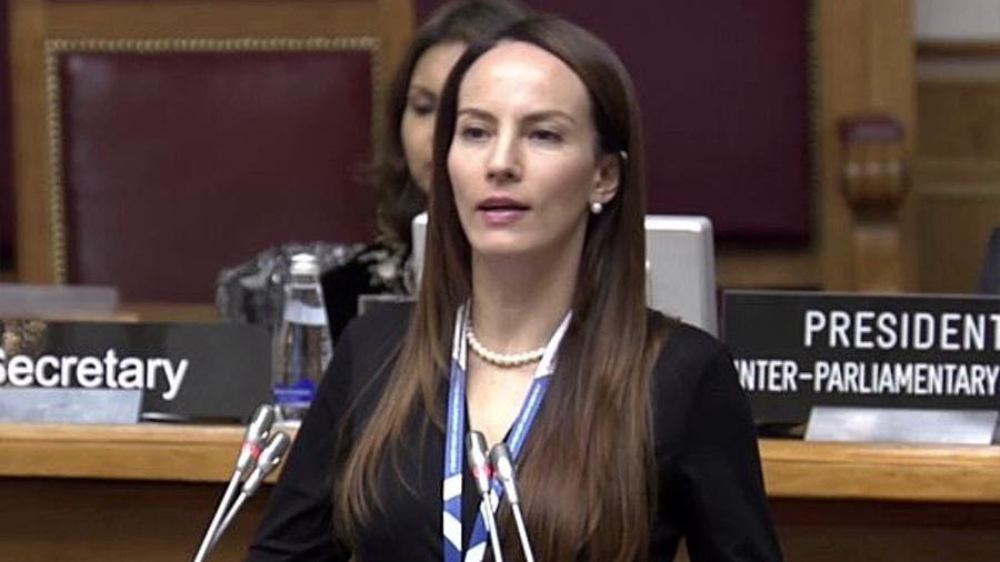 Gran orgullo para el Congreso y el Estado que Gabriela Cuevas Barron presida la UIP, celebra el Senado