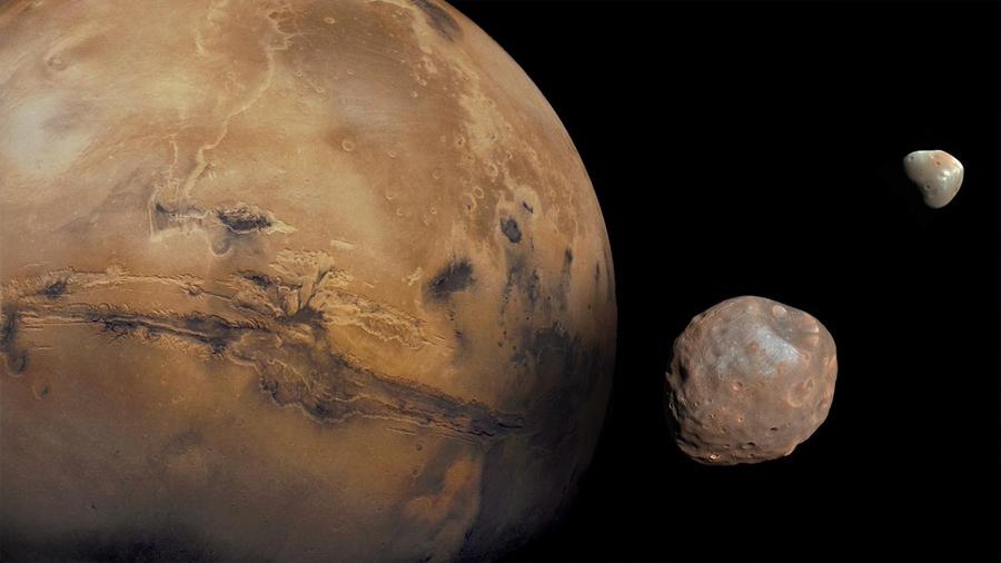 Lunas electrificadas por el Sol complican la conquista de Marte