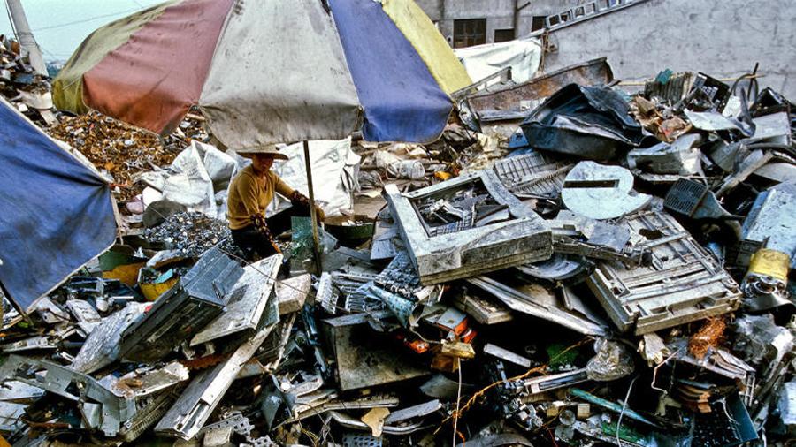 Donde muere la tecnología: basureros globales
