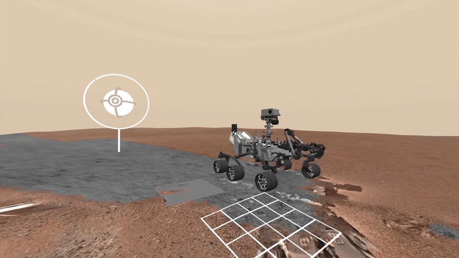 La NASA y Google permiten pasear por Marte junto al rover Curiosity