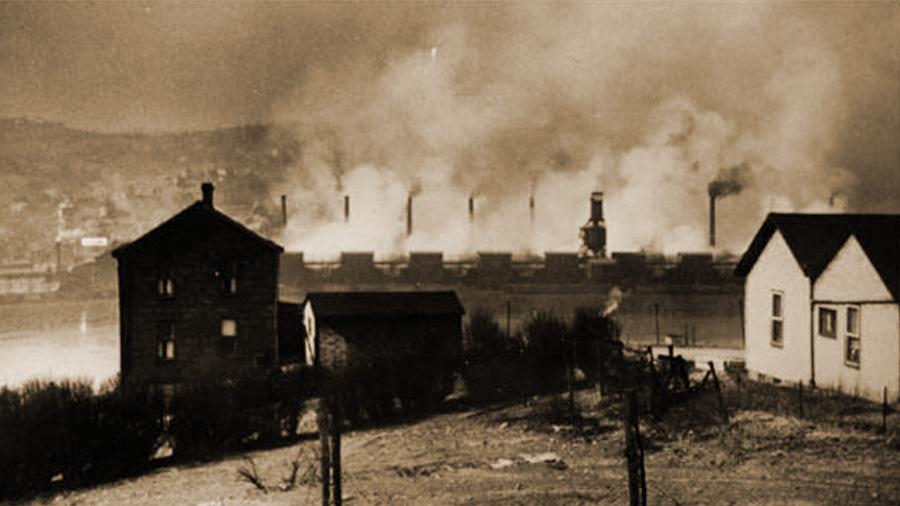 La gran niebla asesina de 1948 que mató a 70 personas