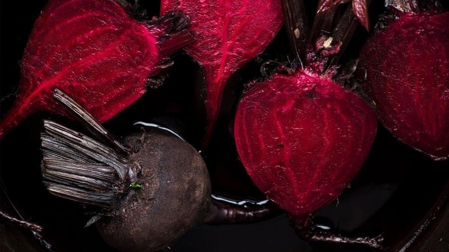 Por qué el betabel se volvió rojo escarlata