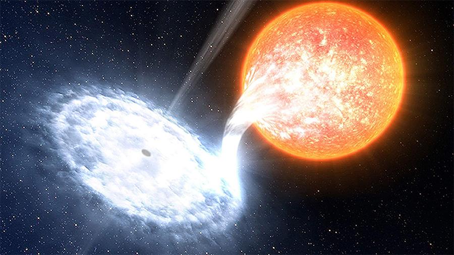 Revelan el tamaño de la zona de aceleración de partículas en uno de los agujeros negros más populares de la Vía Láctea