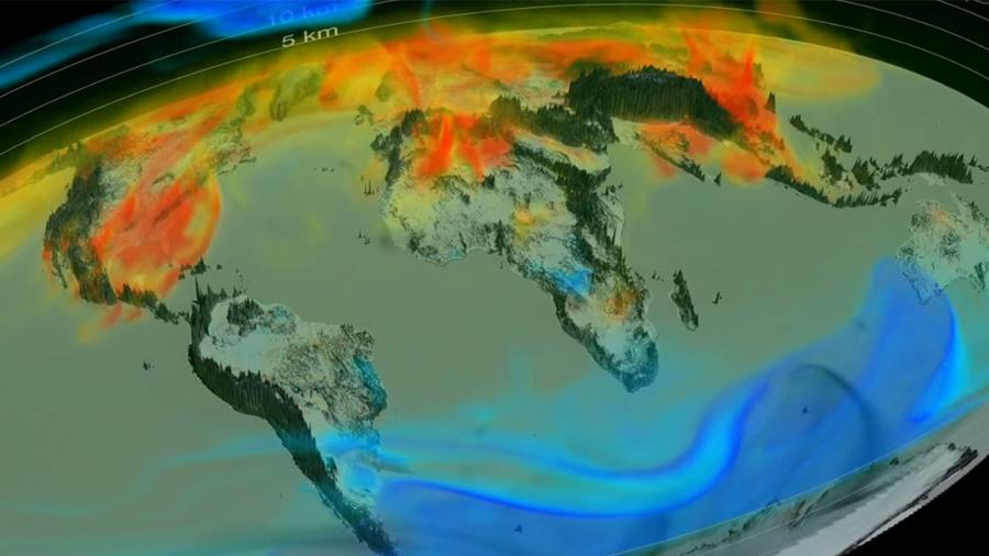 CO2 en la atmósfera alcanza su nivel más alto en 800 000 años