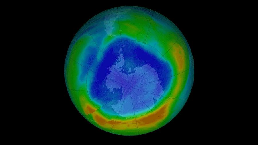El agujero de la capa de ozono se reduce a niveles de 1988