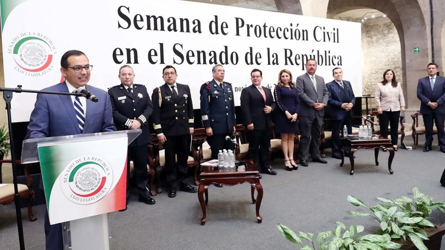 El Estado mexicano tiene capacidad de respuesta ante desastres naturales: Senador Ernesto Cordero Arroyo