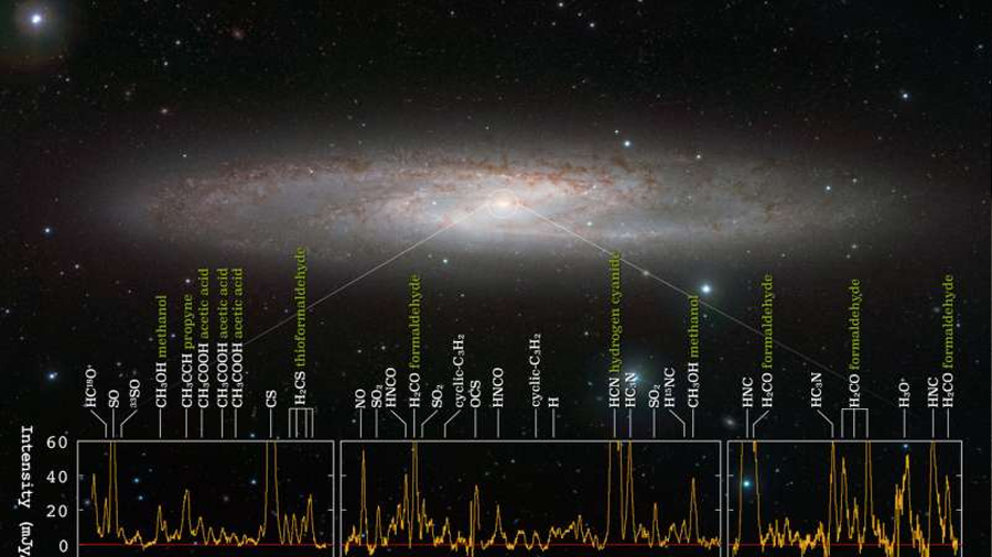 """Se descubre una """"selva molecular"""" en una incubadora de estrellas"""
