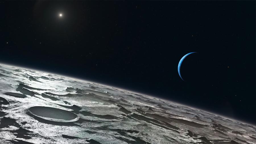 La llegada de Tritón llevó el caos al sistema de lunas de Neptuno