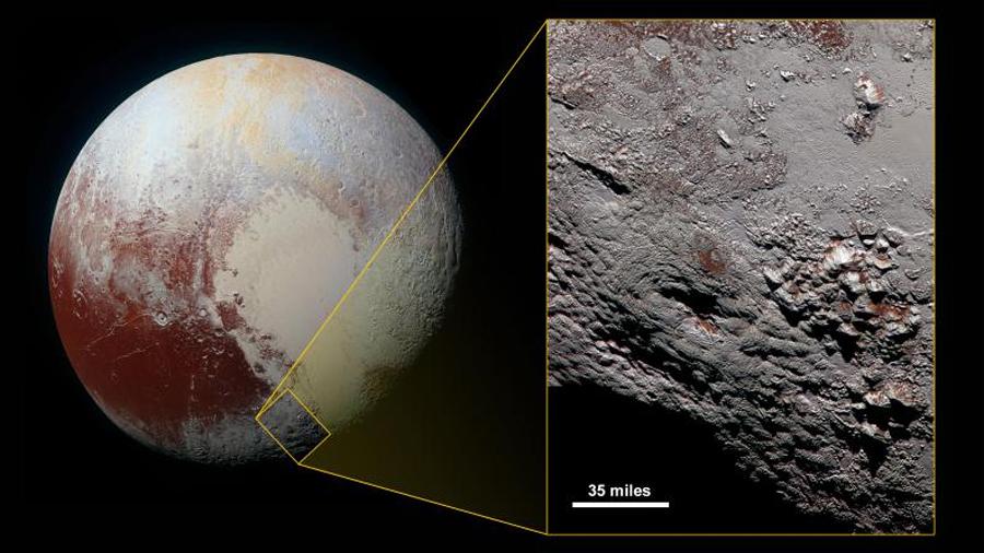 Resuelto el enigma del inesperado frío en Plutón