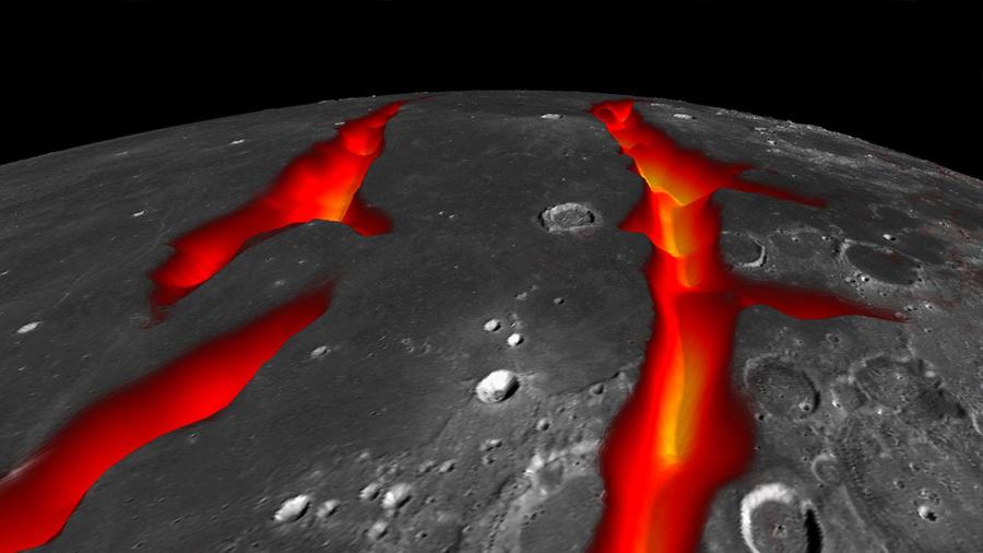 La corteza de la Luna era antes un océano de magma