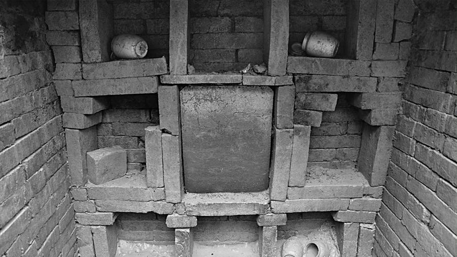 Hallan una tumba de la virtud medieval en China