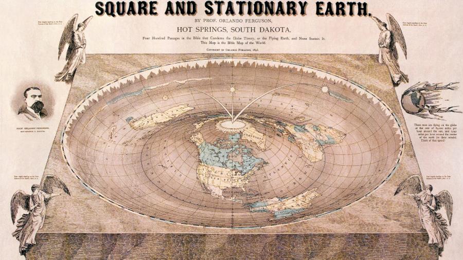 Las delirantes teorías de los defensores de que la Tierra es plana