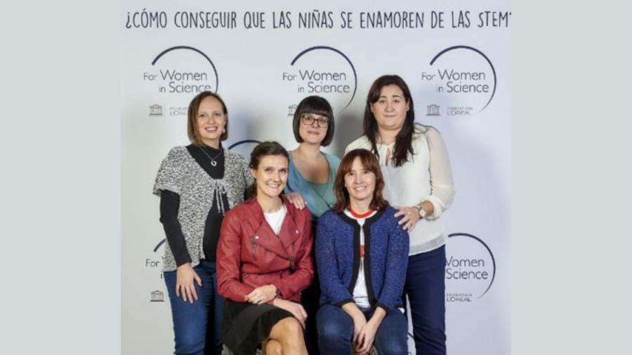 Cinco investigadoras españolas reciben el premio L'Oréal-Unesco