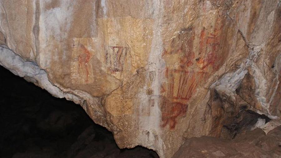 Un camello pintado hace más de 14, 500 años, descubierto en los Urales
