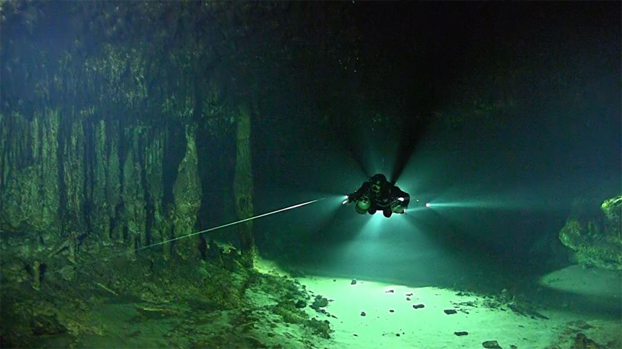 Cuevas inundadas en México albergan un ecosistema basado en metano