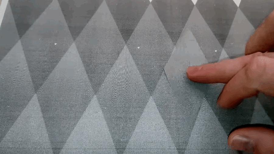Esta ilusión óptica hará que te duela el cerebro creando diferentes colores donde no los hay