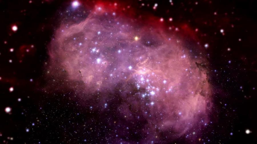 La imagen de radio más detallada de la Pequeña Nube de Magallanes