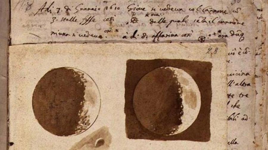 Los primeros dibujos de la Luna de Galileo Galilei revelan una nueva era en la visión del universo