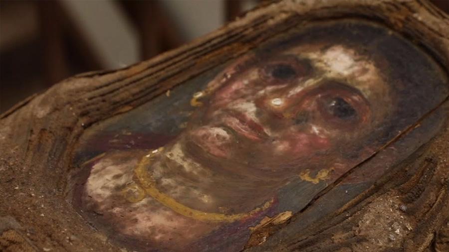 Momia egipcia con retrato pintado fue estudiada con avanzados rayos X