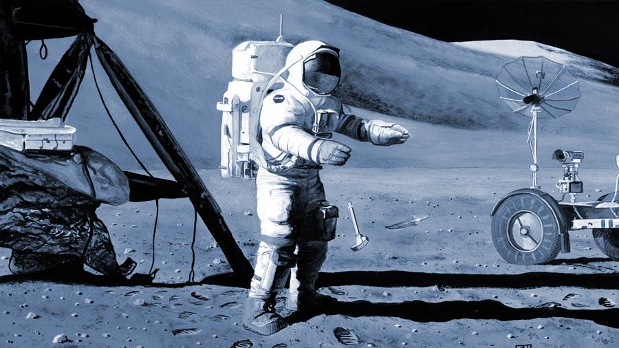 Dos objetos en caída libre en el espacio dan la razón a Einstein