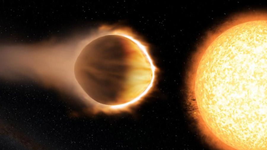 Un exoplaneta con una atmósfera absolutamente letal