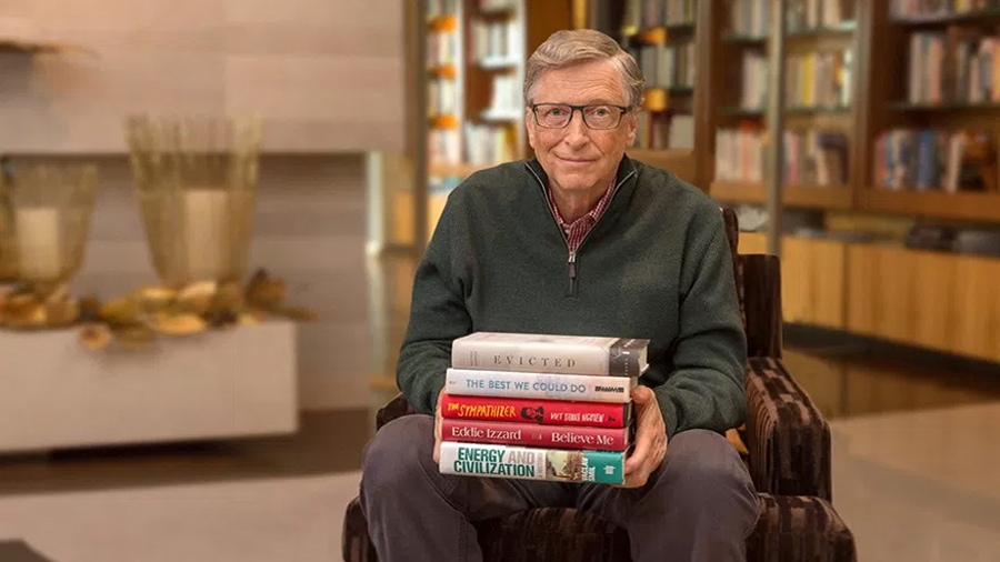 Bill Gates nos dice los 5 libros que debemos leer