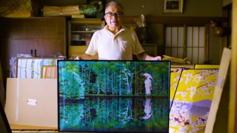 Hombre crea obras de arte dibujando en Microsoft Excel