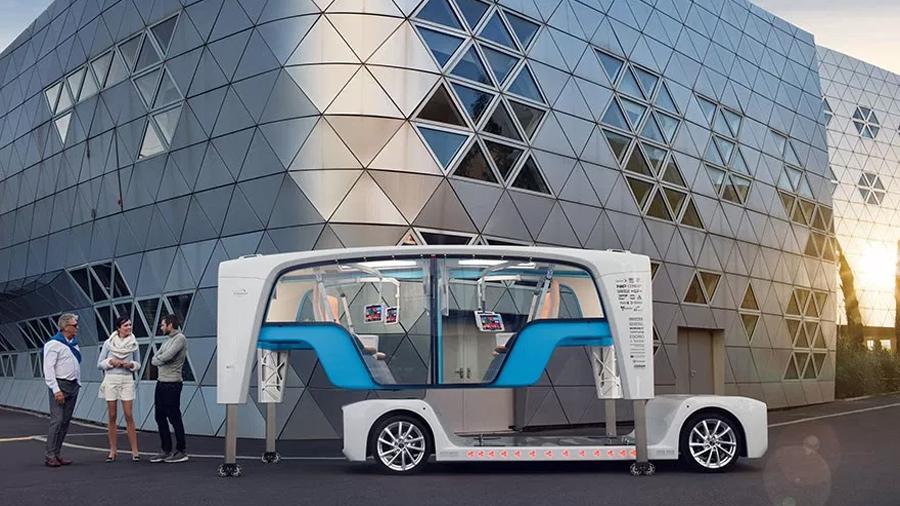 Rinspeed Snap, el camión eléctrico y autónomo que también es modular