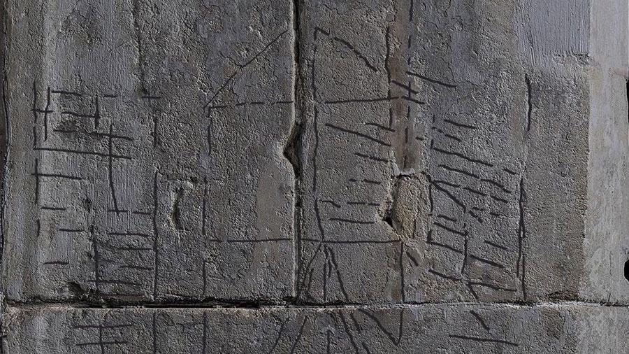 Descubren un grabado de Newton en la casa inglesa donde nació