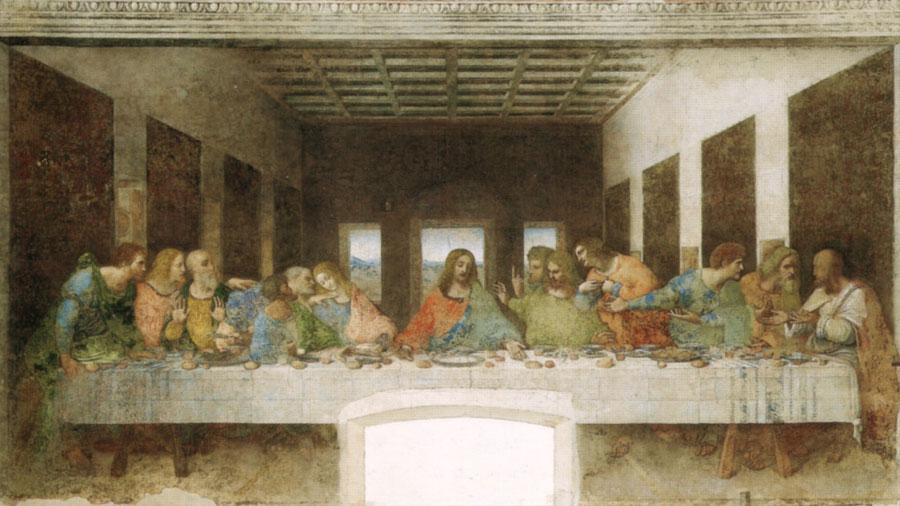 Descubren que Leonardo Da Vinci pintó parte de un cuadro de una abadía belga