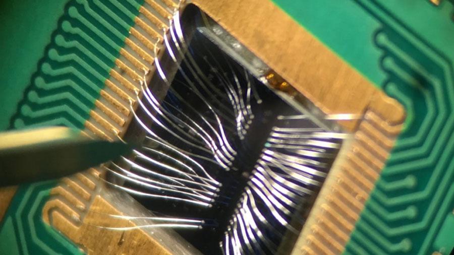 Puerta abierta al silicio en la computación cuántica