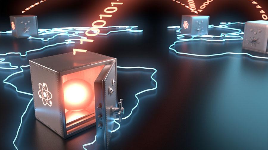 Se logra un qubit fotónico para la teleportación cuántica global