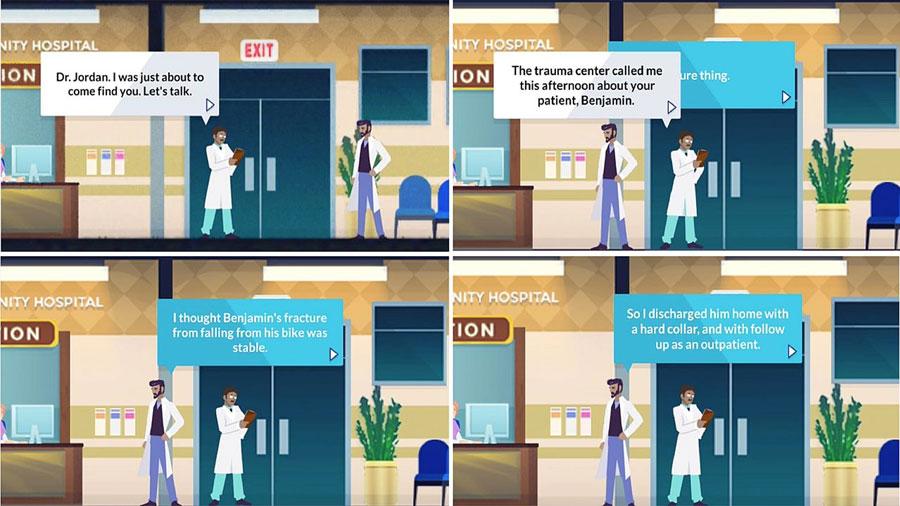 Un videojuego entrena mejor que los libros a médicos de emergencias