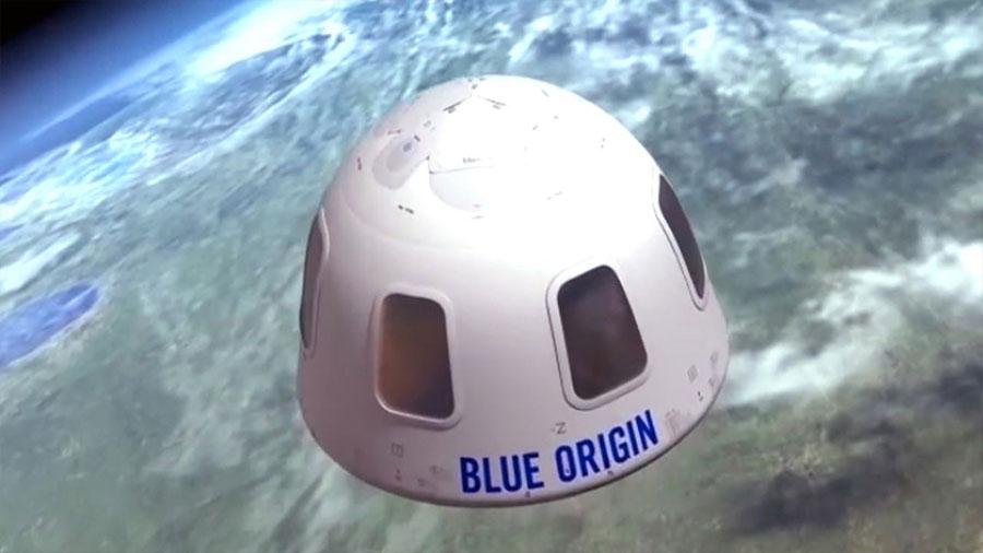 Blue Origin prueba con éxito la cápsula espacial con las mejores vistas del espacio