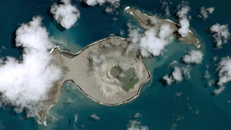 Hunga Tonga, la isla que solo durará unos años