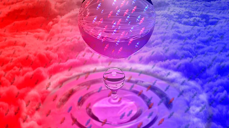 Crean un líquido cuántico millones de veces más diluido que el agua
