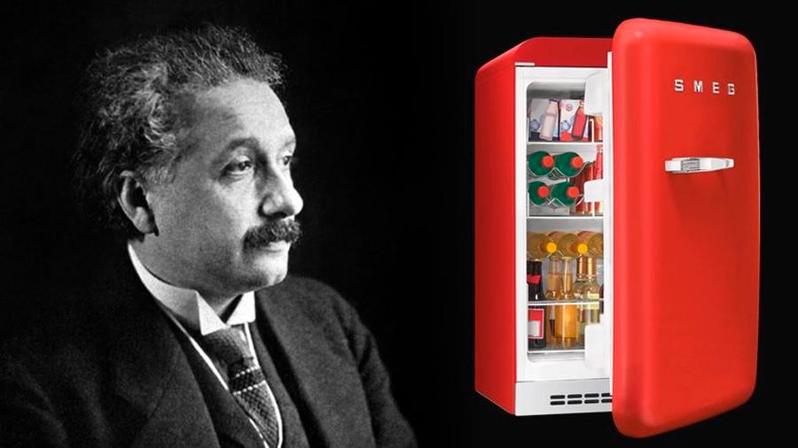 Después de formular la teoría de la relatividad, Einstein usó su tiempo libre para inventar un nuevo tipo de nevera