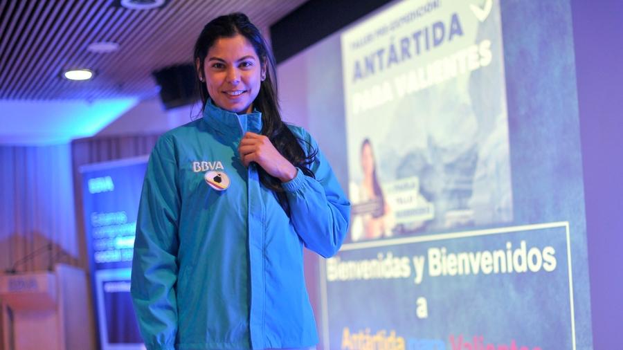 La primera colombiana en el barco de mujeres científicas a la Antártida