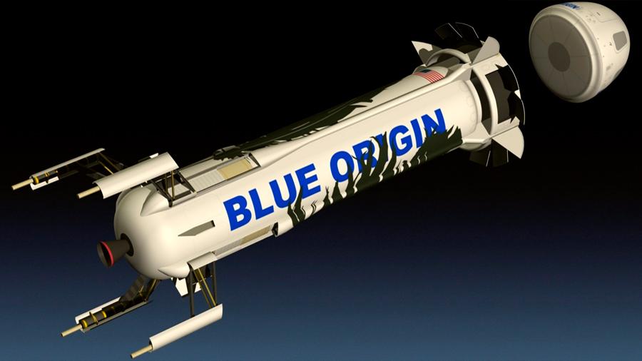Vídeo: así será el vuelo espacial con el cohete de Blue Origin