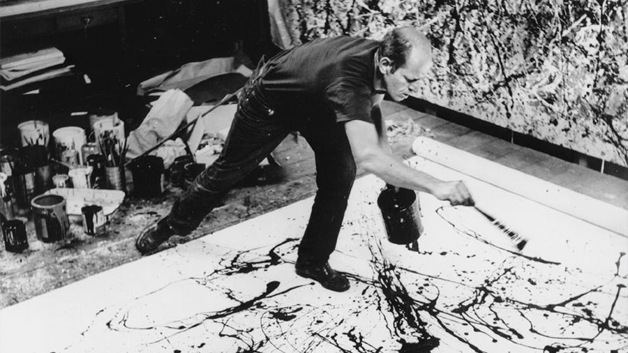 Las matemáticas escondidas detrás de las pinturas de Jackson Pollock