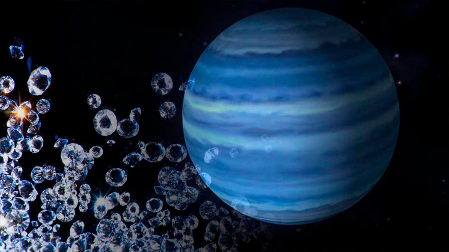 "La ""lluvia de diamantes"" en Neptuno"