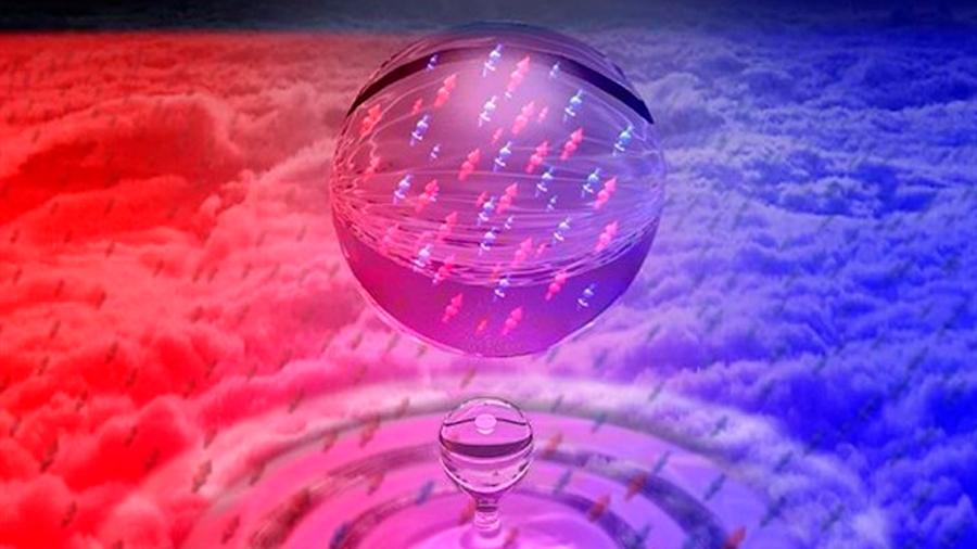 Crean gotas cuánticas ultradiluidas que se mantienen en estado líquido