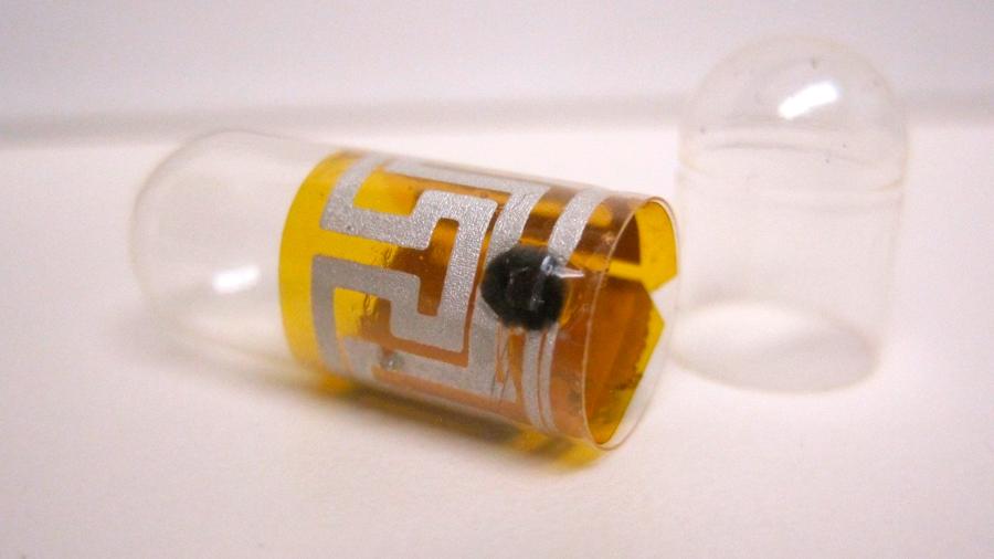 Una cápsula inteligente espía al paciente para ver si sigue su tratamiento