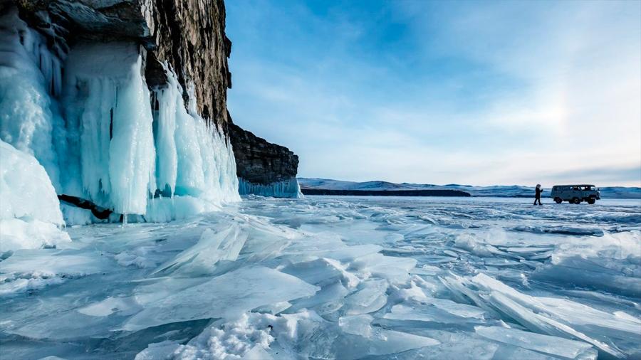 Detectan bacterias en hielos donde era imposible albergar vida