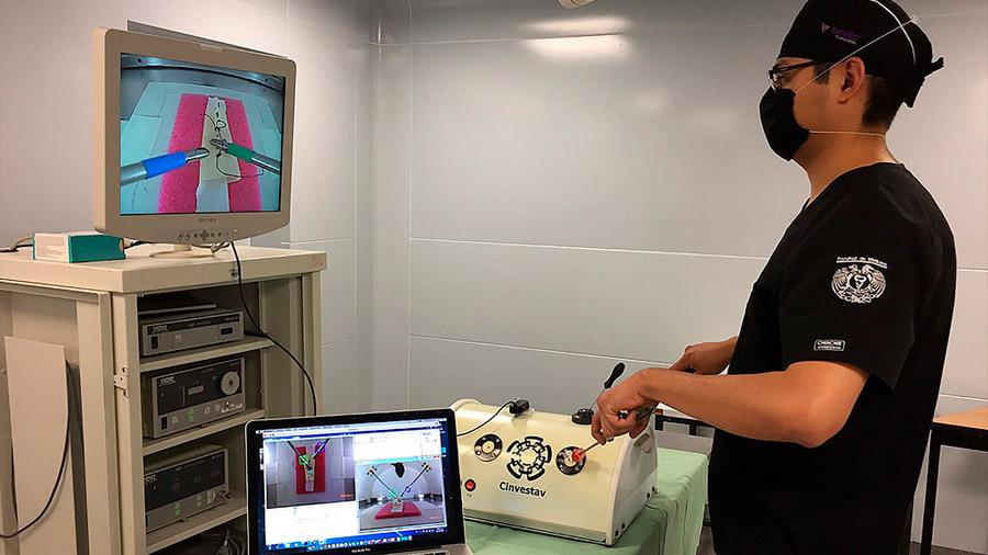 Diseñó investigador mexicano simulador de aprendizaje y entrenamiento en cirugías laparoscópicas