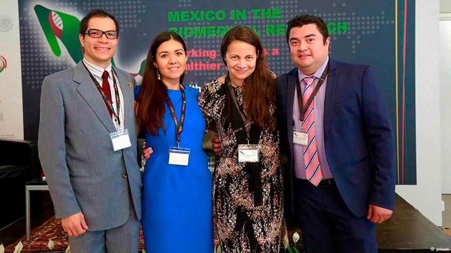 "Científicos mexicanos en Berlín: ""Salvamos vidas"""