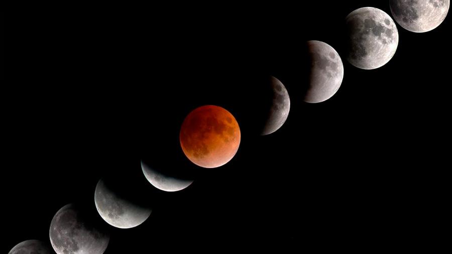 El 2018 traerá lluvia de estrellas, lunas de sangre, eclipse de superluna y hasta eclipses solares