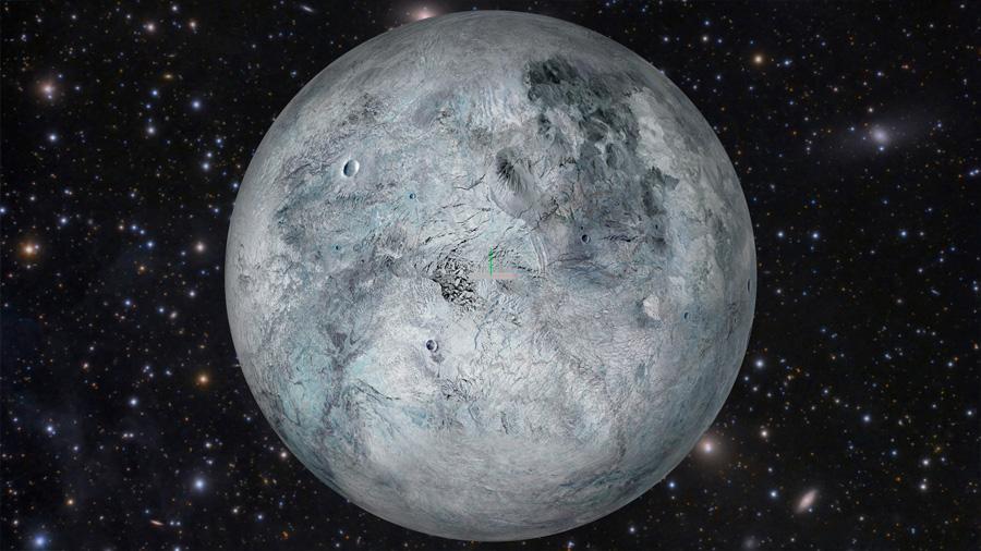 Eris, 'décimo' planeta del Sistema Solar, cumple 13 años
